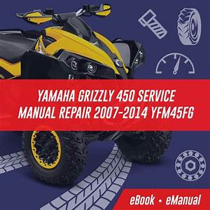 Yamaha Grizzly 450 2003 Workshop Service Repair Manual