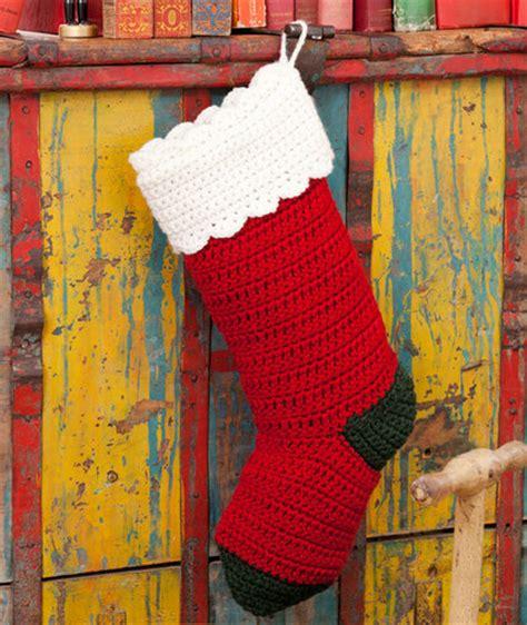 quick easy stocking  christmas crochet pattern
