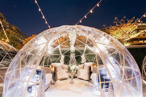 Garden Igloo Erfahrungen by Today In Rich Things Luxury Igloos At The Watergate