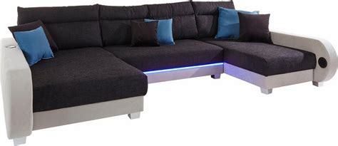 collection ab wohnlandschaft inklusive led beleuchtung
