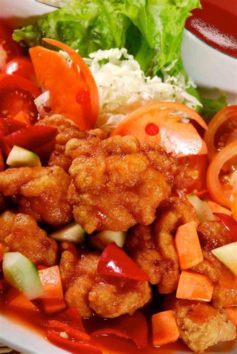 Kentalkan dengan larutan tepung sagu, aduk rata. Resep Ayam Asam Manis Nanas | Resep Masakan Ta' | Berbagi Cita Rasa Dalam Masakan
