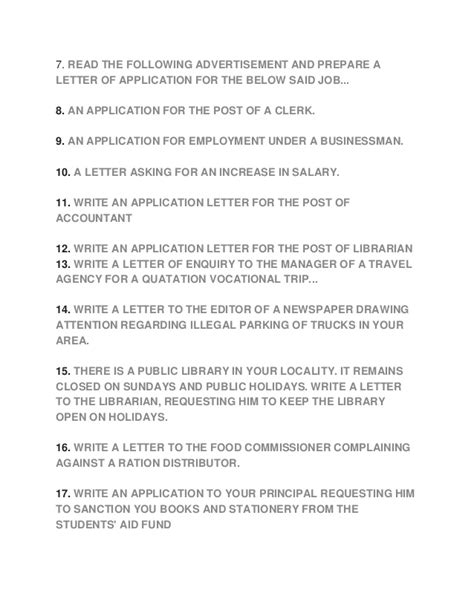 leave application letter   native place