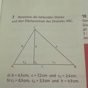 Raute Flächeninhalt Berechnen : satz des pythagoras zum berechnen einer dreiecksfl che und einer raute mathelounge ~ Themetempest.com Abrechnung