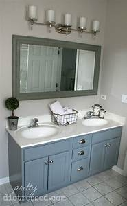 pretty distressed window shopping wednesday vanity With painted vanities bathrooms
