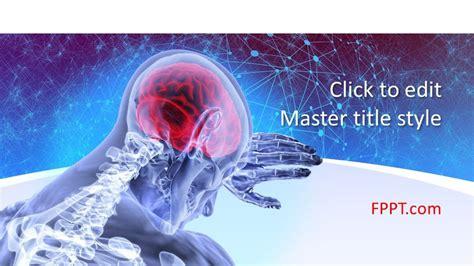 brain powerpoint template  powerpoint templates