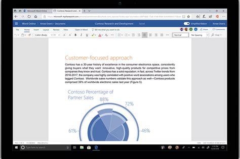 microsoft devrait offrir 224 office un nouveau look inspir 233 du fluent design
