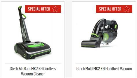 gtech air ram mk  cordless vacuum cleaner gtech multi