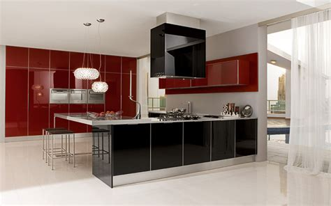 model cuisine equipee algerie ultra modern glossy kitchen judy by futura cucine digsdigs