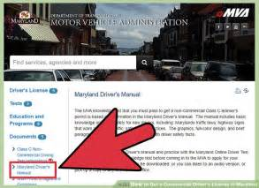 How To Get A Commercial Driver U0026 39 S License In Maryland  7 Steps