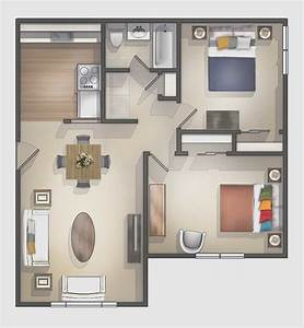 Beautiful, Small, Studio, Apartment, Floor, Plans, Two, Bedroom, Apartments, In, Nj, Style, Very, Ideas