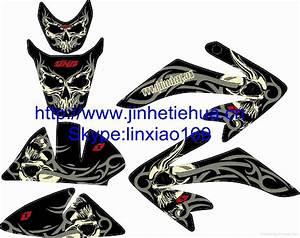 3M Adhesive Sticker for Dirt Bike Pit bike - JH-CRF50-005