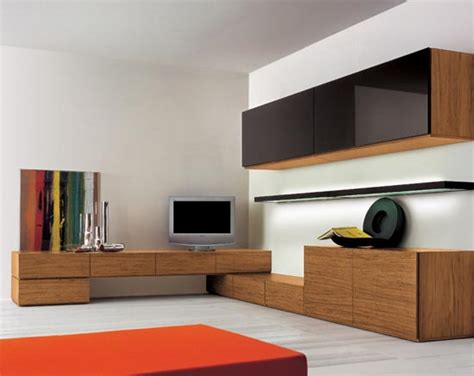 Black Storage Unit Living Room : Meridien Interiors