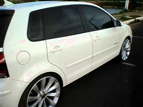 vw polo hatch sportline  rodas aro  youtube