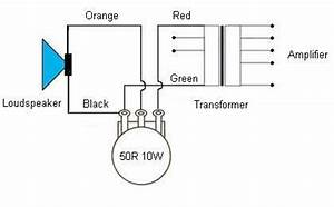 100v loudspeaker terminology With potentiometer stereo speaker wiring free download wiring diagrams