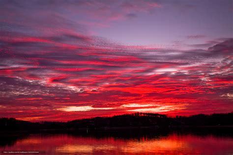 support bureau tlcharger fond d 39 ecran lac nuages coucher du soleil