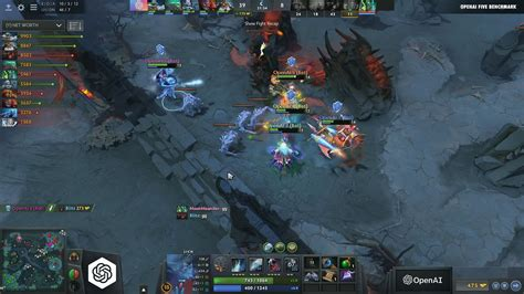 ai bots just beat humans at the dota 2 of ideas