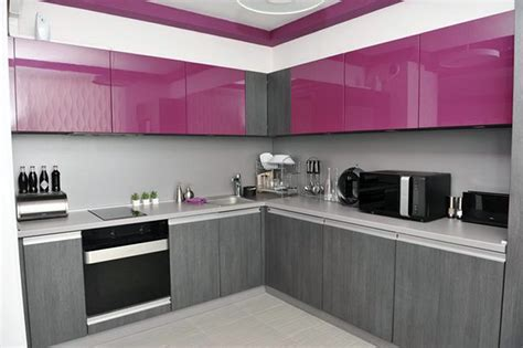 Cool Kitchen Ideas For Small Kitchens - small modern kitchen design with l shaped white wooden very grey mahogany island using eased