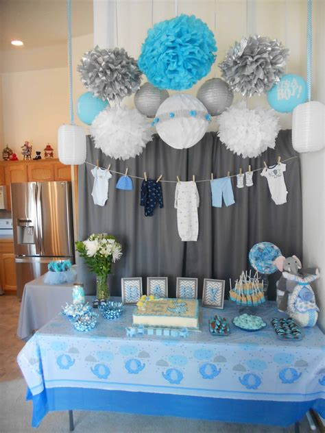 unique baby shower ideas  boys