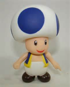 Super Mario Blue Toad
