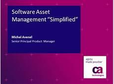 Software Asset Management Simplified