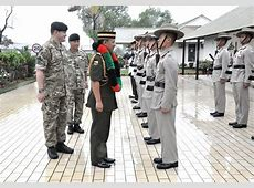 Commander of the Royal Brunei Armed Forces pays a farewell