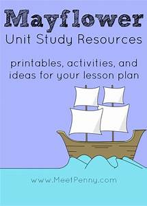 Mayflower Unit Study Resources
