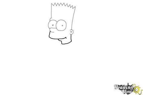 draw bart simpson drawingnow