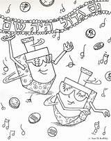 Hanukkah Coloring Pages Chanukah Dreidel Purim Printable Sheets Christmas Symbols Fun Menorah Drawing Happy Holiday Crafts Jewish Hannukah Dreidels Story sketch template