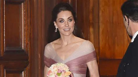Kate Middleton Wears Recycled Alexander McQueen Gown For ...