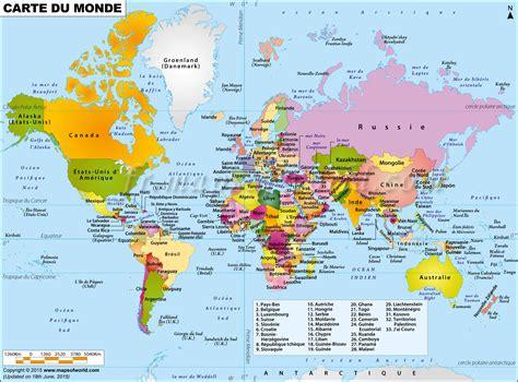Carte Du Monde by Grande Carte Du Monde