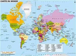 Carte Du Monde Design : carte mondiale arts et voyages ~ Teatrodelosmanantiales.com Idées de Décoration