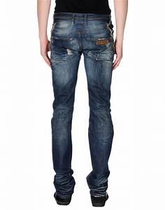 Just cavalli Denim Trousers in Blue for Men | Lyst