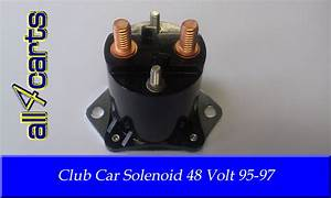 Club Car 48 Volt Golf Cart Solenoid