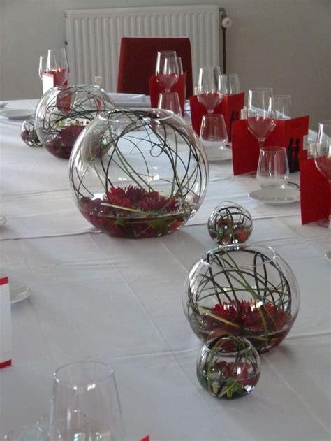deco de table mariage original mariage et noir table d honneur d 233 coration de table et autre