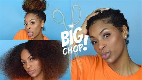 Bid Shop The Big Chop 2016 Starting My New Hair Journey
