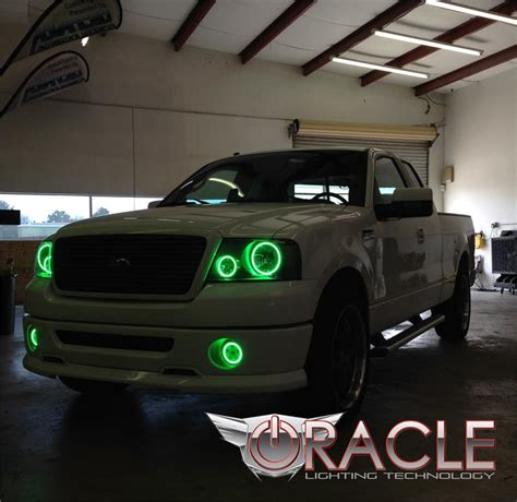 halo lights for trucks oracle halo fog lights complete assemblies oem style for