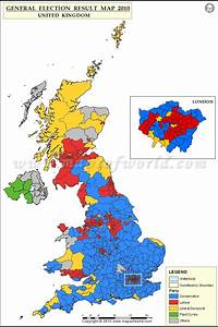 UK Election Results 2015 Map, UK General Election Results 2015