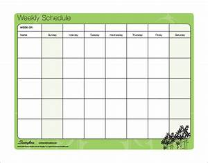 Family schedule templates 14 free word excel pdf for Kids weekly schedule template