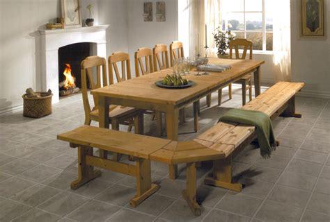 table cuisine bois massif table en bois massif photo 10 10 table en bois massif avec banquette en bois