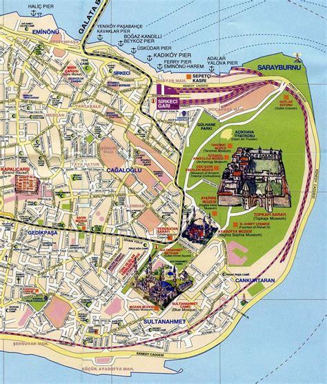 map  istanbul istanbul maps mapsofnet