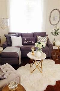 Sep into fall decor best small apartment decorating ideas for Small sectional sofa decorating ideas