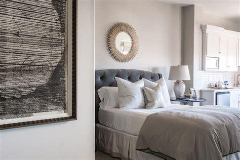 gray tufted headboard gray velvet tufted headboard transitional bedroom