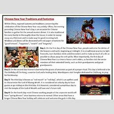 Chinese New Year Traditions  Reading Comprehension By Mariapht  Teaching Resources Tes
