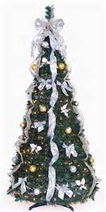 6 ft pull up decorated pre lit collapsible pop up tree 350 lights ebay