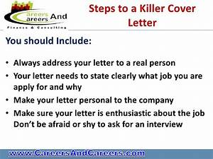 do you have a killer cv With should you always include a cover letter