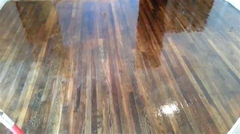 Put Polyurethane   Hardwood Floor Part  Youtube