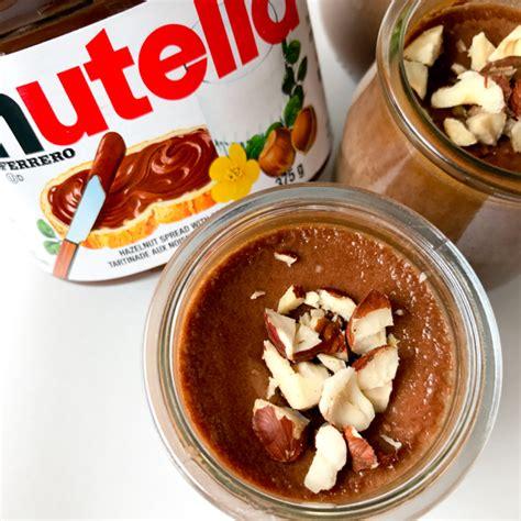 nutella pots de cr 232 me eat live travel write