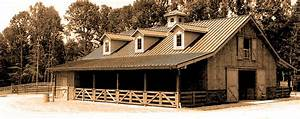 custom post and beam barn kits horse stable living With custom barn kit