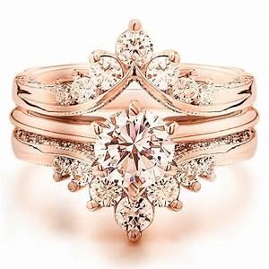 gorgeous rose gold vintage antique morganite engagement With vintage wedding rings rose gold