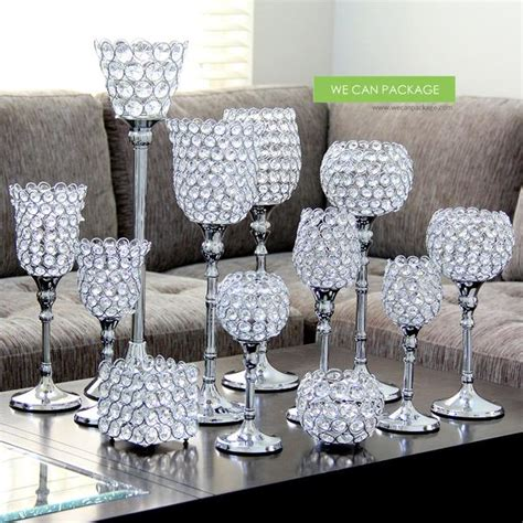 crystal flower candle holder wholesale crystal candle
